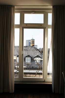 Hotel em Frankfurt: The Pure - Vista da janela do quarto