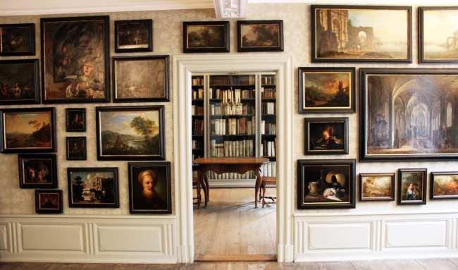 Casa Goethe de Frankfurt - Biblioteca