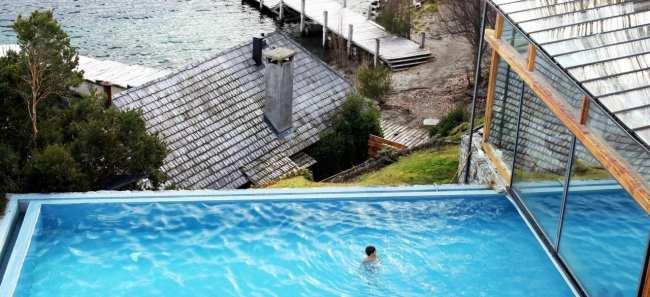 Hotéis Villa la Angostura - Correntoso: piscina