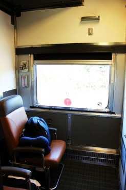 Viajar de trem no Canadá - The Canadian - Cabine para 1 pessoa
