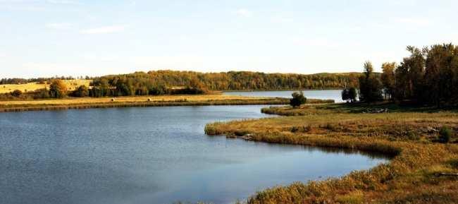 Viajar de trem no Canadá - The Canadian - paisagem dos lagos 6