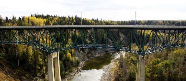 Viajar de trem no Canadá - The Canadian - Paisagem do caminho 3