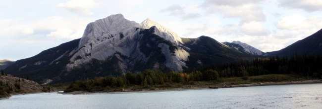 Viajar de trem no Canadá - The Canadian - Parte das rochosas canadenses