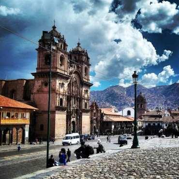 Viagem ao Peru pela Giovanna - Plaza de Armas de Cusco