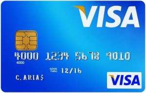Viajar com cartão Visa - Cartão Azul