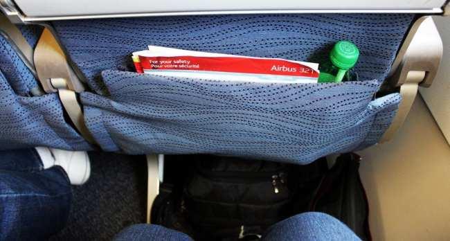 Como é voar de Air Canada - Espaço para as pernas na Econômica
