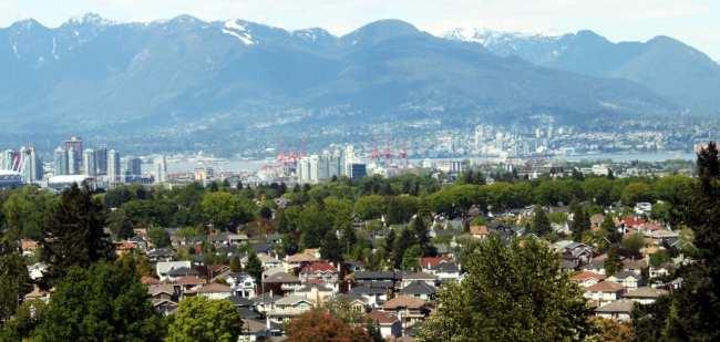 Dicas e roteiros de Vancouver - Vista do Queen Elisabeth
