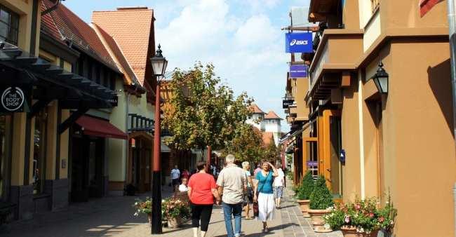 Outlets da Alemanha - Wertheim Village - Por dentro 3