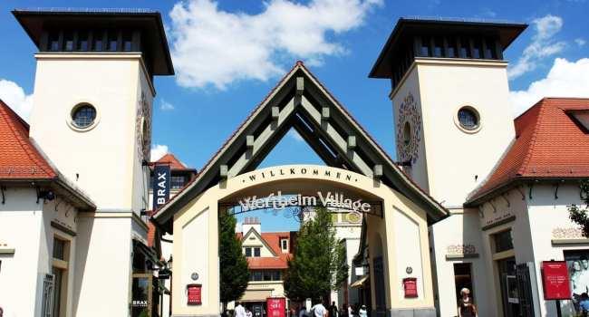 Outlets da Alemanha - Wertheim Village - Entrada