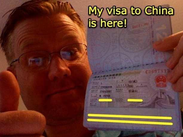 Como se comportar nas entrevistas para o visto - Tirando o visto chinês
