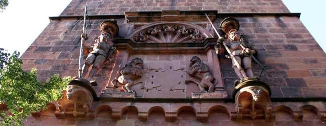 Guia de Heidelberg na Alemanha - Detalhes da torre