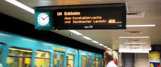 Metro de Frankfurt - Detalhes da linha 4 do metrô