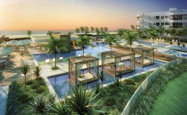 Residencial Resort In Mare Bali - Vista das piscinas