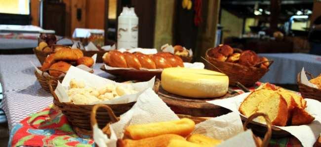 Serra da Canastra - Café da manhã com queijo Canastra