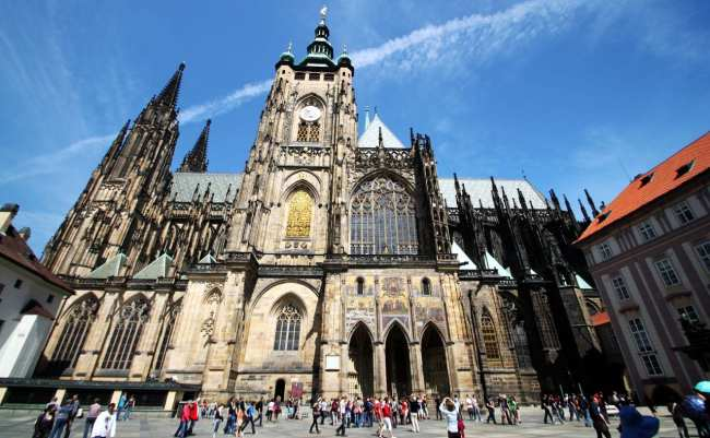 Castelo de Praga - Catedral de São Vito 3