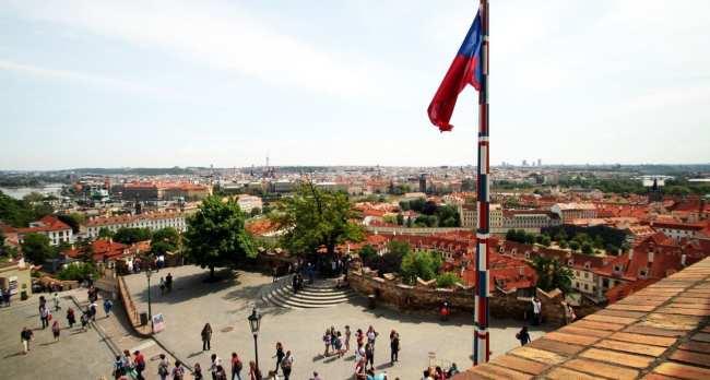 Castelo de Praga - Vista do Castelo 3