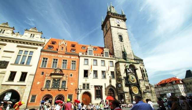 Relógio Astronômico de Praga - Mais uma da Old Town Hall