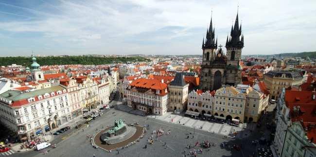 Relógio Astronômico de Praga - Nossa Senhora de Týn