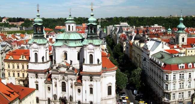 Relógio Astronômico de Praga - Mais vistas da Torre da Old Town Hall