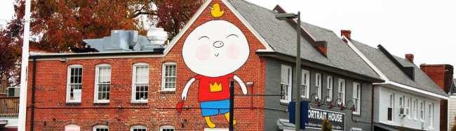 Roteiro de 1 dia em Richmond - Carytown Arte de rua