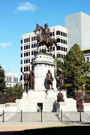 Roteiro de 1 dia em Richmond - Capitólio da Virginia Estátua