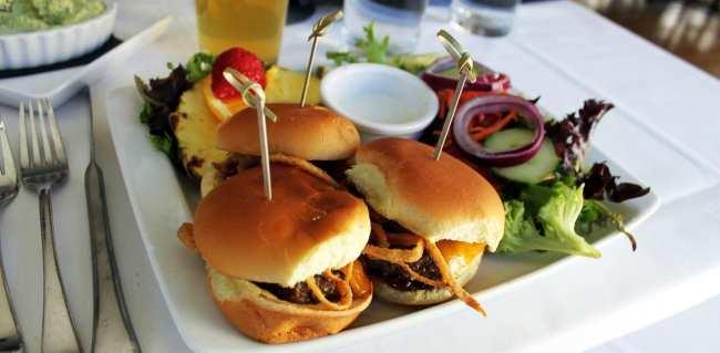 Roteiro de 1 dia em Richmond - 525 at the Berry Burk hamburguer de bisão
