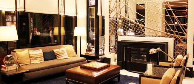 O que fazer em Annapolis - Loews Hotel lobby
