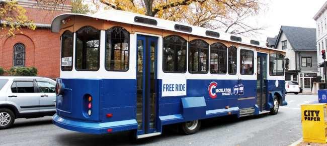 O que fazer em Annapolis - Circle Trolley de graça