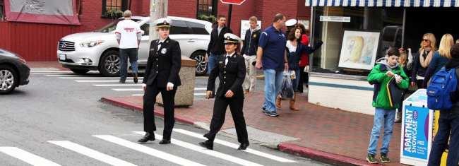 O que fazer em Annapolis - Oficiais da Marinha