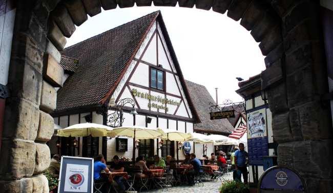Handwerkerhof de Nuremberg - Entrada