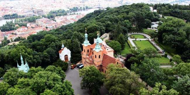Petrin em Praga - Atrações no parque 1