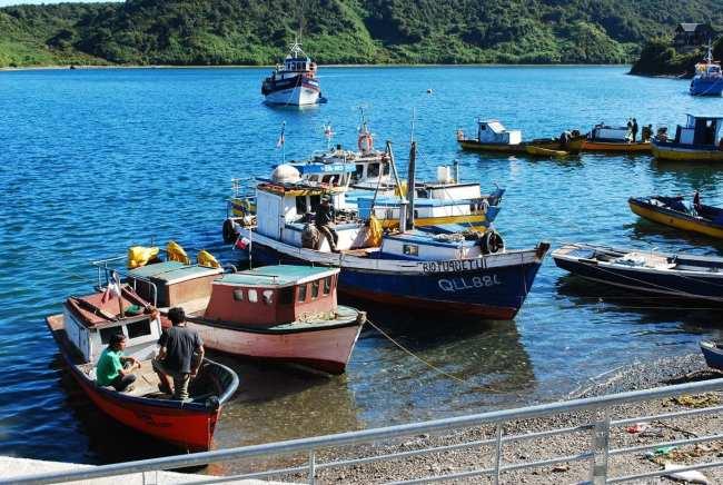 Puerto Montt - barquinhos