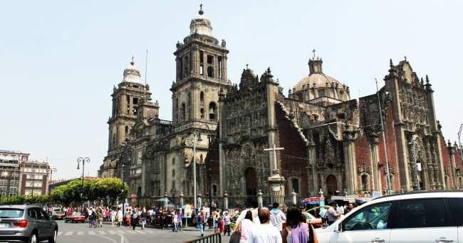 Zocalo Centro Histórico da Cidade do México - Catedral Metropolitana