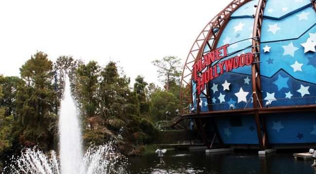 Guia completo de Orlando - Planet Hollywood no Downtown Disney