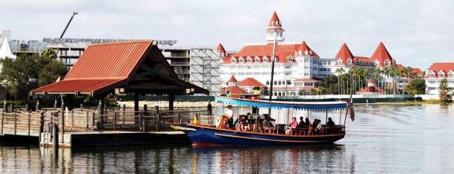 Guia completo de Orlando - Parada de barco na Disney