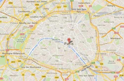 Guia de Paris - Arrondissements
