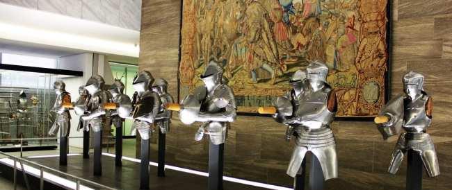 Museu Nacional Germânico de Nuremberg - Armaduras de cavaleiros