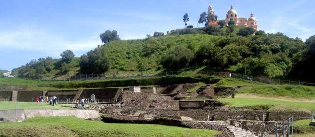 Puebla - Ruínas das Pirâmides de Cholula 1
