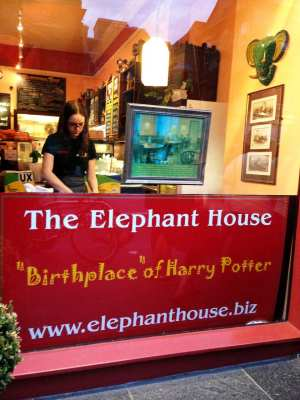 The Elephant House (o café onde Harry Potter começou <3)