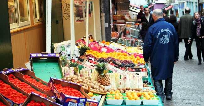 Roteiro de Paris - Mercado de Mouffetard