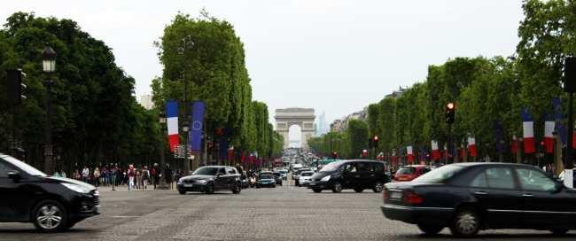 Roteiro de Paris - Arco do Triunfo
