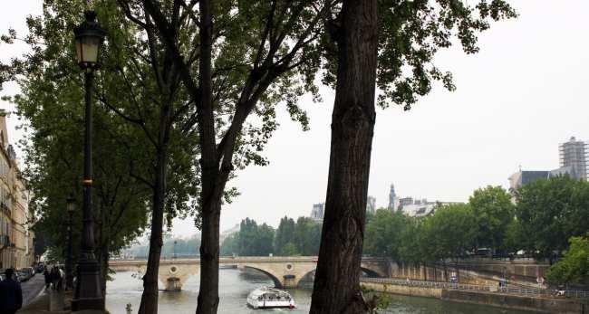 Roteiro de Paris - Paisagem do rio Sena