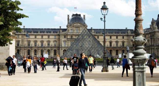 Roteiro de Paris - Museu do Louvre
