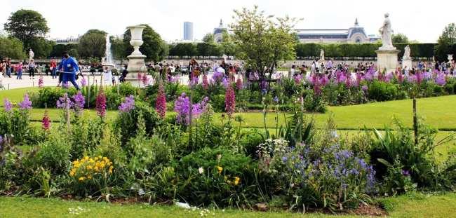 Roteiro de Paris - Jardim