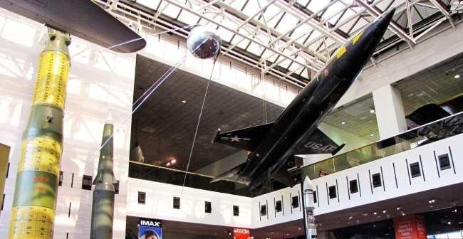 Roteiro de Washington - Museu Aero-Espacial 1