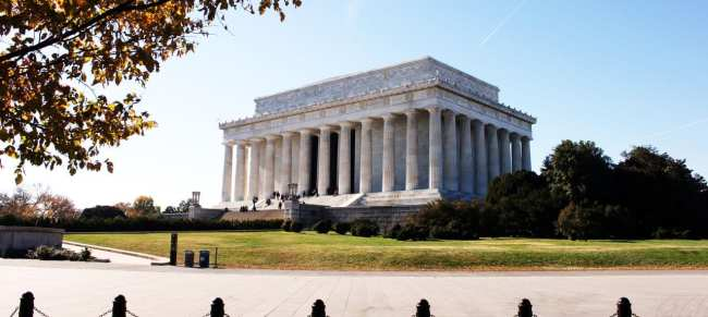 Segway Tour em Washington - Lincoln Memorial