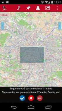 Melhor app de mapas offline - OruxMaps Download de mapas 2