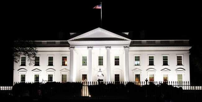 Onde ficar em Washington - Casa Branca de noite
