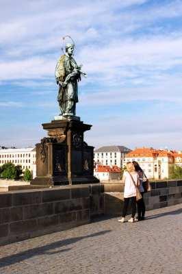 Ponte Carlos em Praga - São João Nepomuceno 2