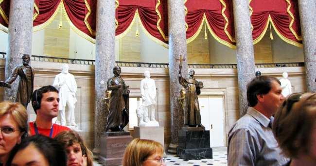 Capitólio de Washington - Obras de arte do Visitor's Center 2